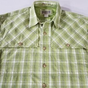 Duluth No Fly Zone Plaid Button Down Shirt